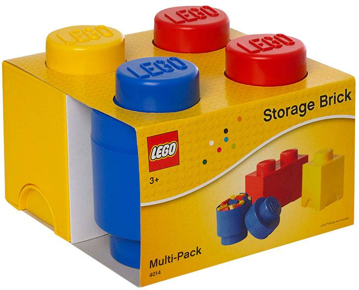 Opbergbox Lego: set 3-delig