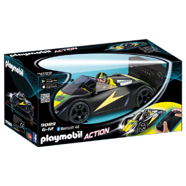 PLAYMOBIL 9089 Action op afstand bestuurbare Super Sports Racer
