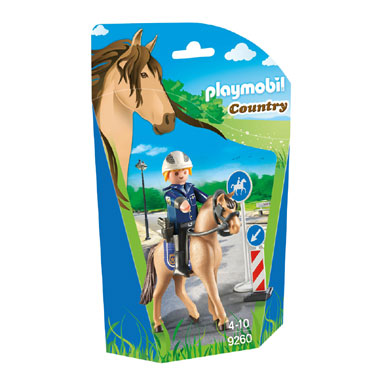 PLAYMOBIL 9260 Country bereden politie
