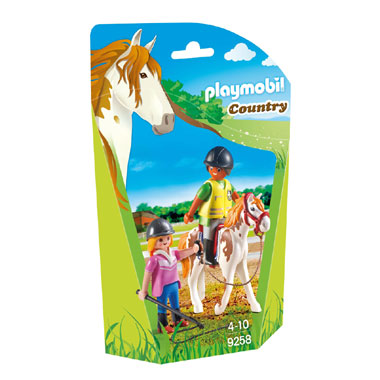 PLAYMOBIL Country paardrij instructrice 9258