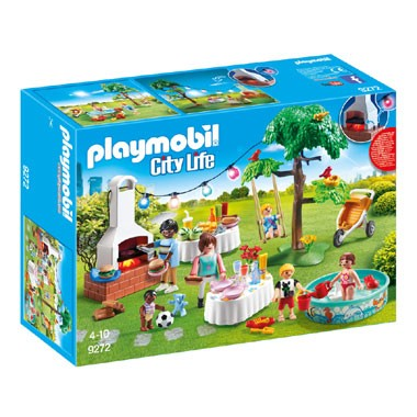 9272 PLAYMOBIL familiefeest met barbecue lp