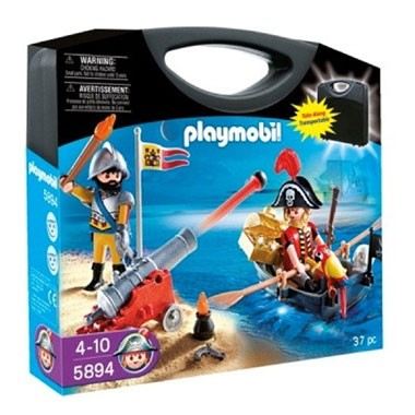 PLAYMOBIL piraten meeneemkoffer 5894