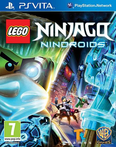 PS VITA Game LEGO Ninjago Nindroids