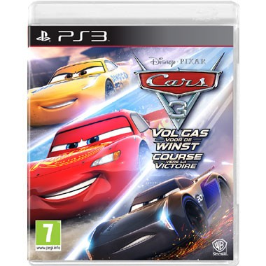 PS3 Cars 3 Vol gas voor de winst