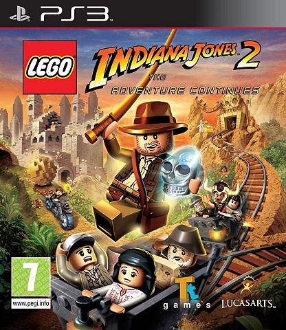 Game  , Indiana Jones 2, The Adv. Continues