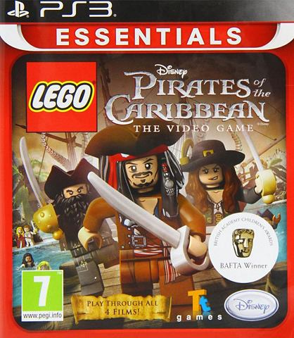 PS3 Game LEGO, Pirates of the Caribbean