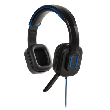 PS4 Qware Gaming Headset Pro - zwart