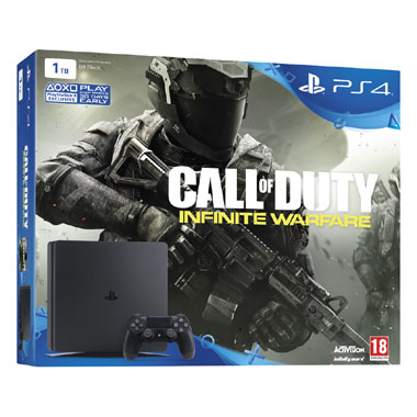 PlayStation 4 Slim 1TB Call of Duty Infinite Warfare bundel