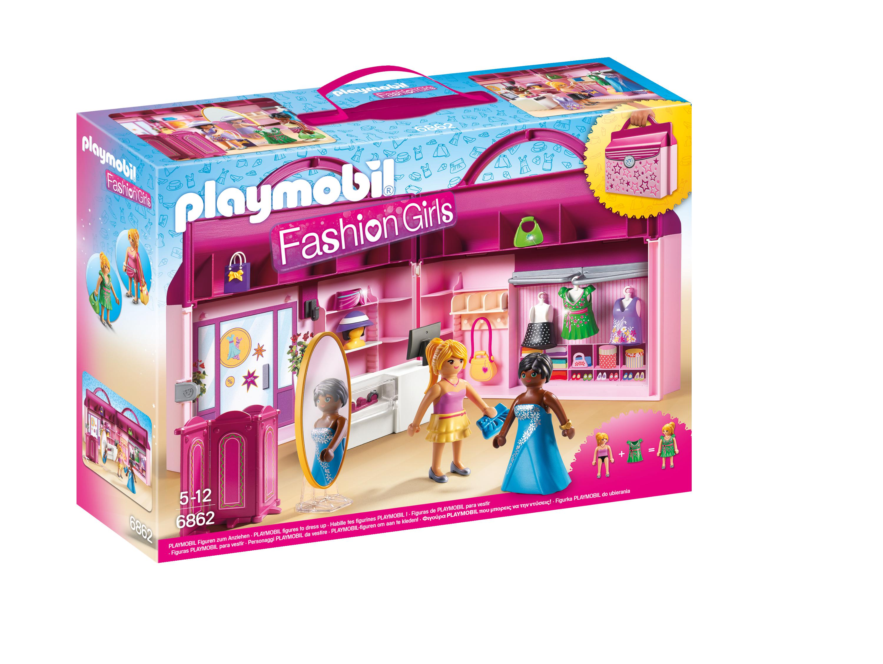 Playmobil 6862 City Life Meeneem Fashionshop