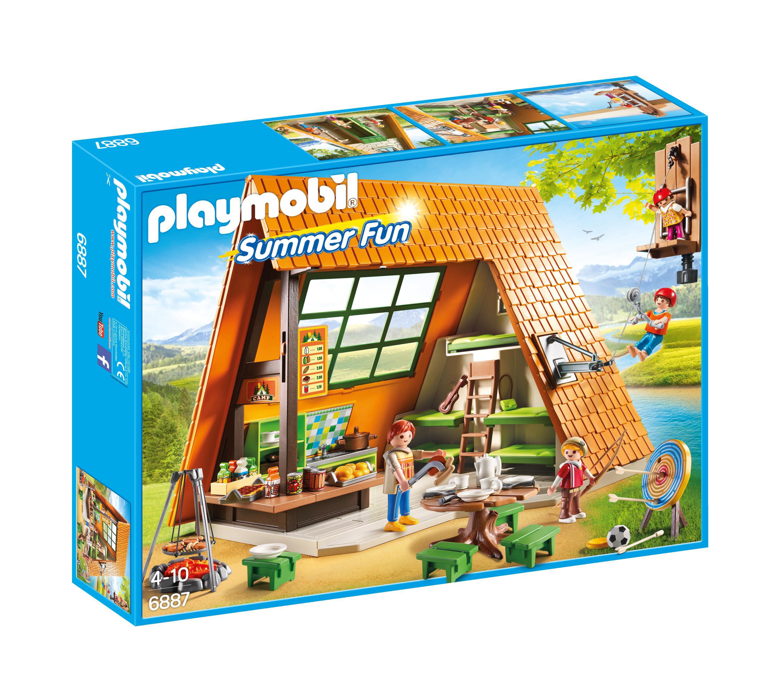 playmobil summer fun grote familie camper 6671 4008789066718. Black Bedroom Furniture Sets. Home Design Ideas