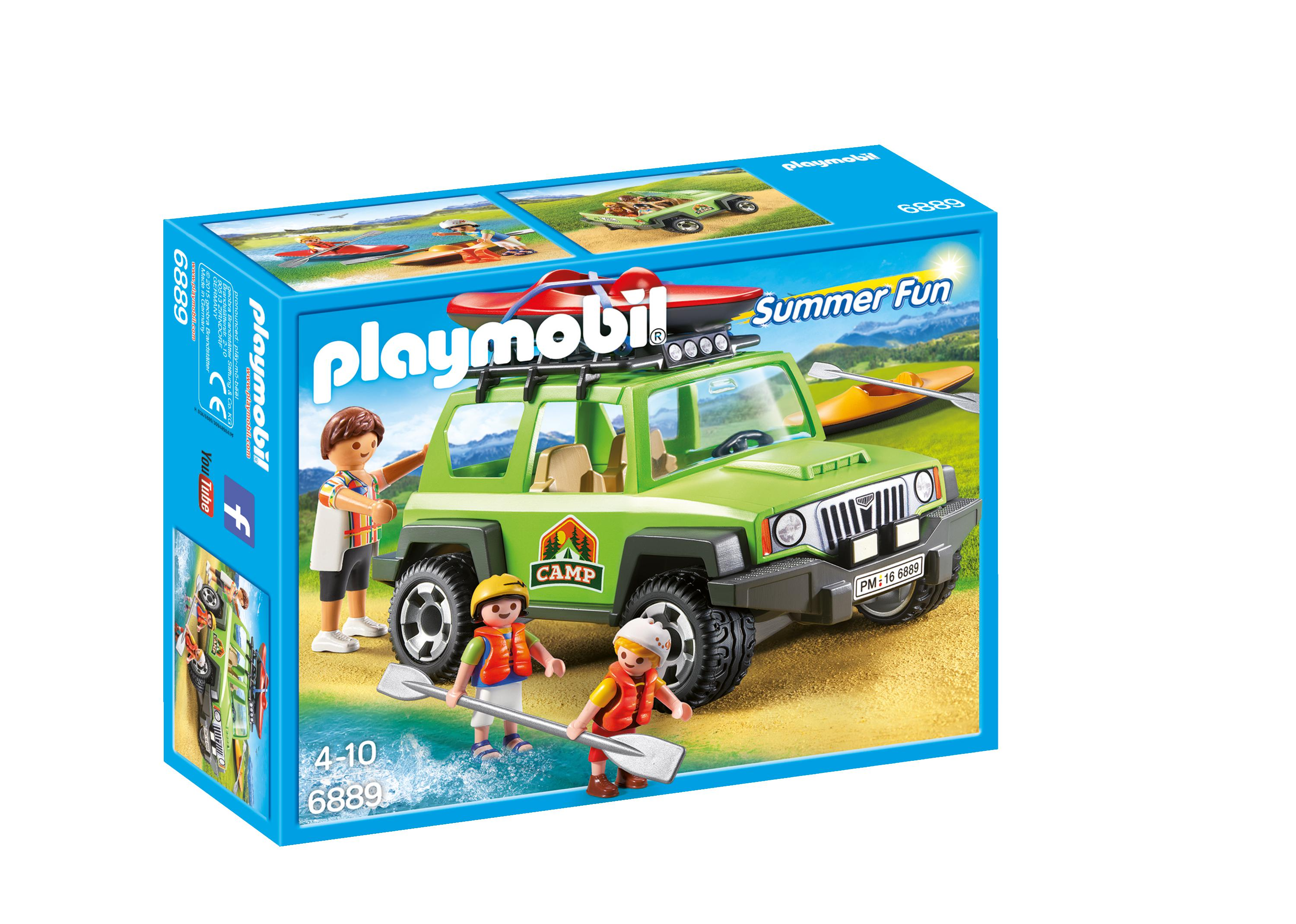 Playmobil® 6889 Summer Fun Familieterreinwagen