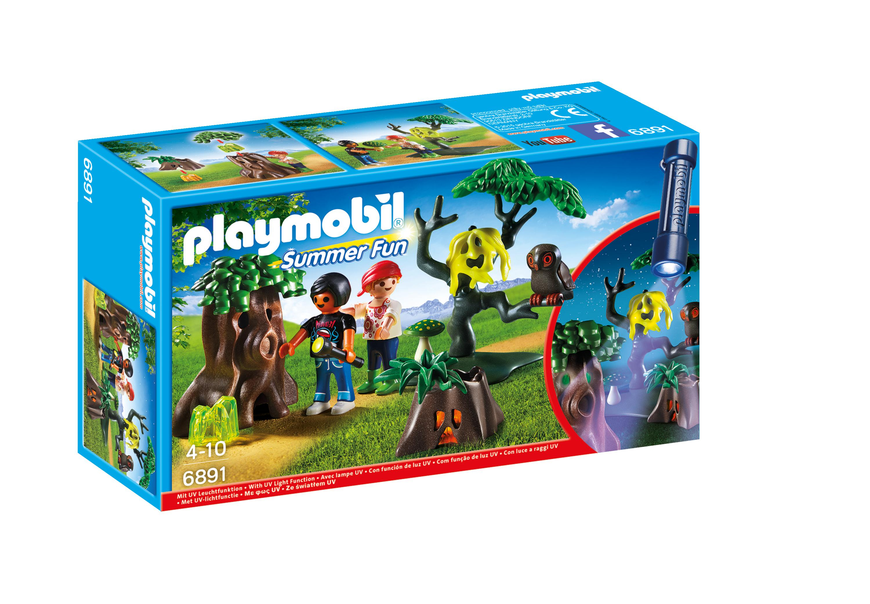 Playmobil 6891 Summer Fun Nachtdropping Met Uv-lamp