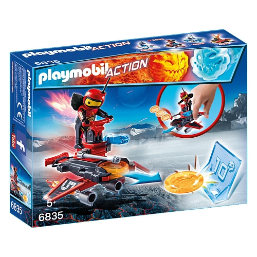 Playmobil - firebot met disc-shooter - 6835