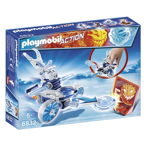 Playmobil - frosty met disc-shooter - 6832