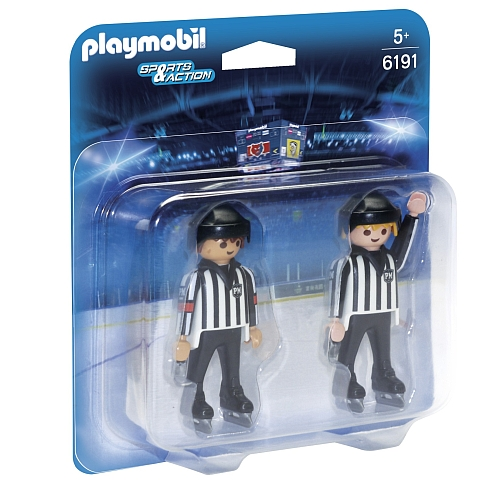 Playmobil - hockey scheidsrechters - 6191