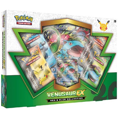 TCG 20th Anniversary Venusaur EX Box
