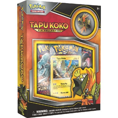 Pokémon TCG Tapu Koko pin collectie