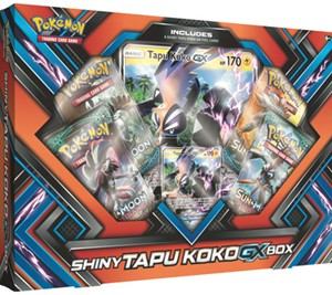 - Shiny Tapu Koko-GX Box