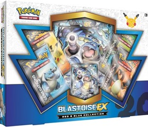 20th Anniversary Red & Blue Collection - Blastoise-EX