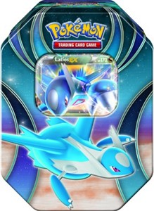 TCG 2015 Fall Tin Latios-EX
