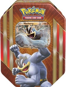 TCG Spring Tin Machamp-EX