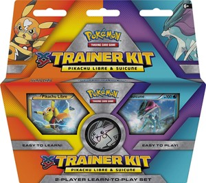 TCG Trainer Kit Pikachu Libre & Suicune