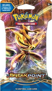 TCG XY9 Break Point Sleeved Boosterpack