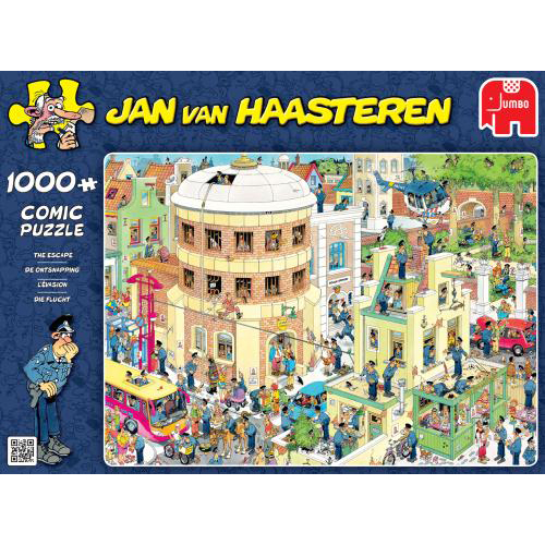 Puzzel Jan Van Haasteren The Escape 1000 Stukjes
