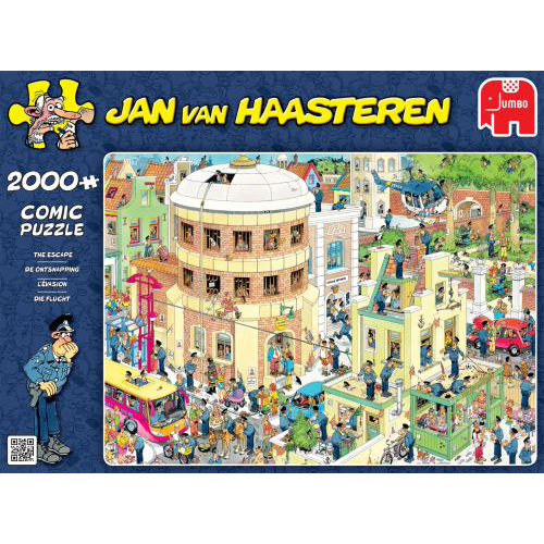Puzzel Jan Van Haasteren The Escape 2000 Stukjes