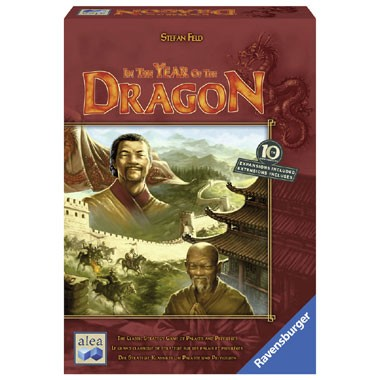 Ravensburger Alea The year of the dragon bordspel