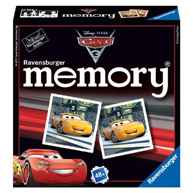 Ravensburger Disney Cars 3 mini memory