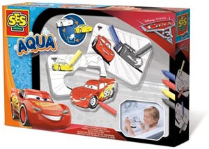 SES Aqua - Badkleurplaten - Cars 3