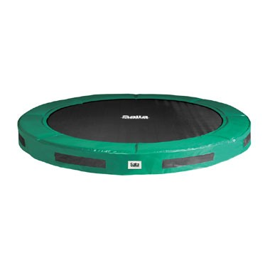 Excellent Ground trampoline - 251 cm - groen