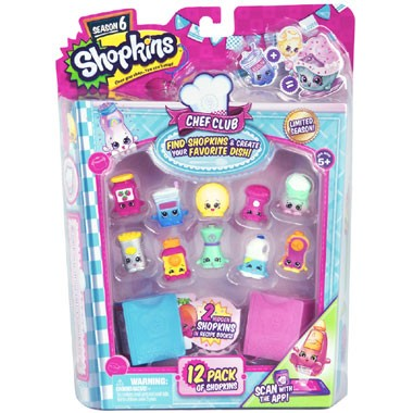 Shopkins Chef Club blister 12-pack