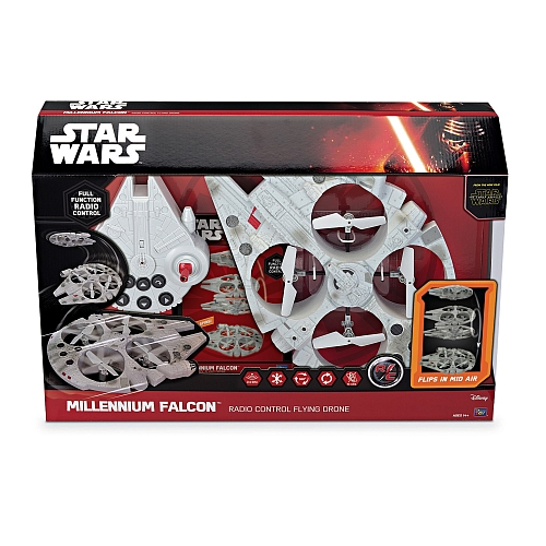 Star wars - episode vii, rc milennium falcon drone