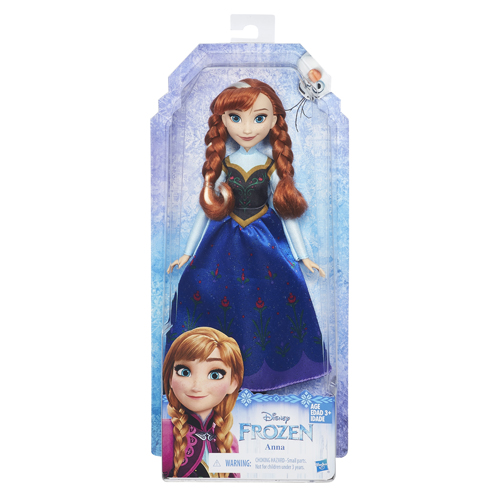 Tienerpop Disney   Anna Classic Fashion
