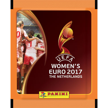 UEFA Women Euro 2017 stickerzakje