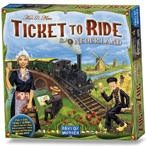 Uitbreiding Spel Ticket To Ride Nederland