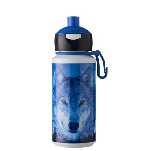 Wolf Drinkfles Pop Up