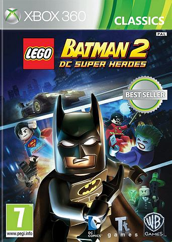 XBOX 360 Game LEGO Batman 2 DC Superheroes (Classics)