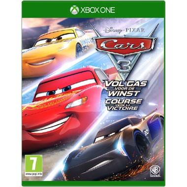 Xbox One Cars 3 Vol gas voor de winst