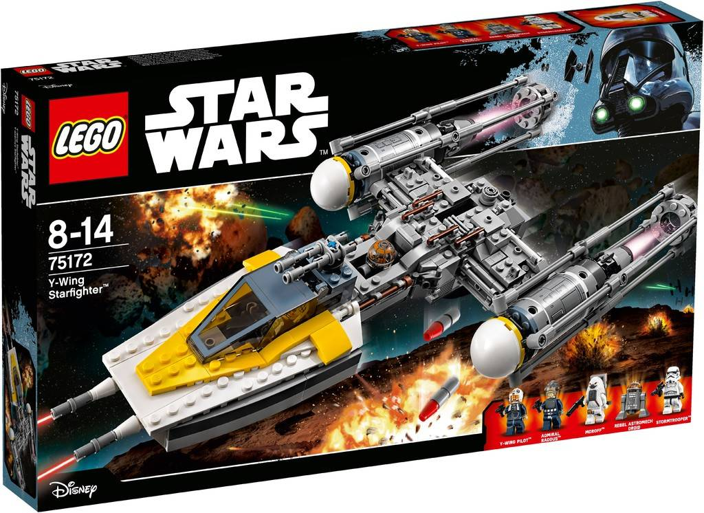 Y-Wing Starfighter Lego 75172