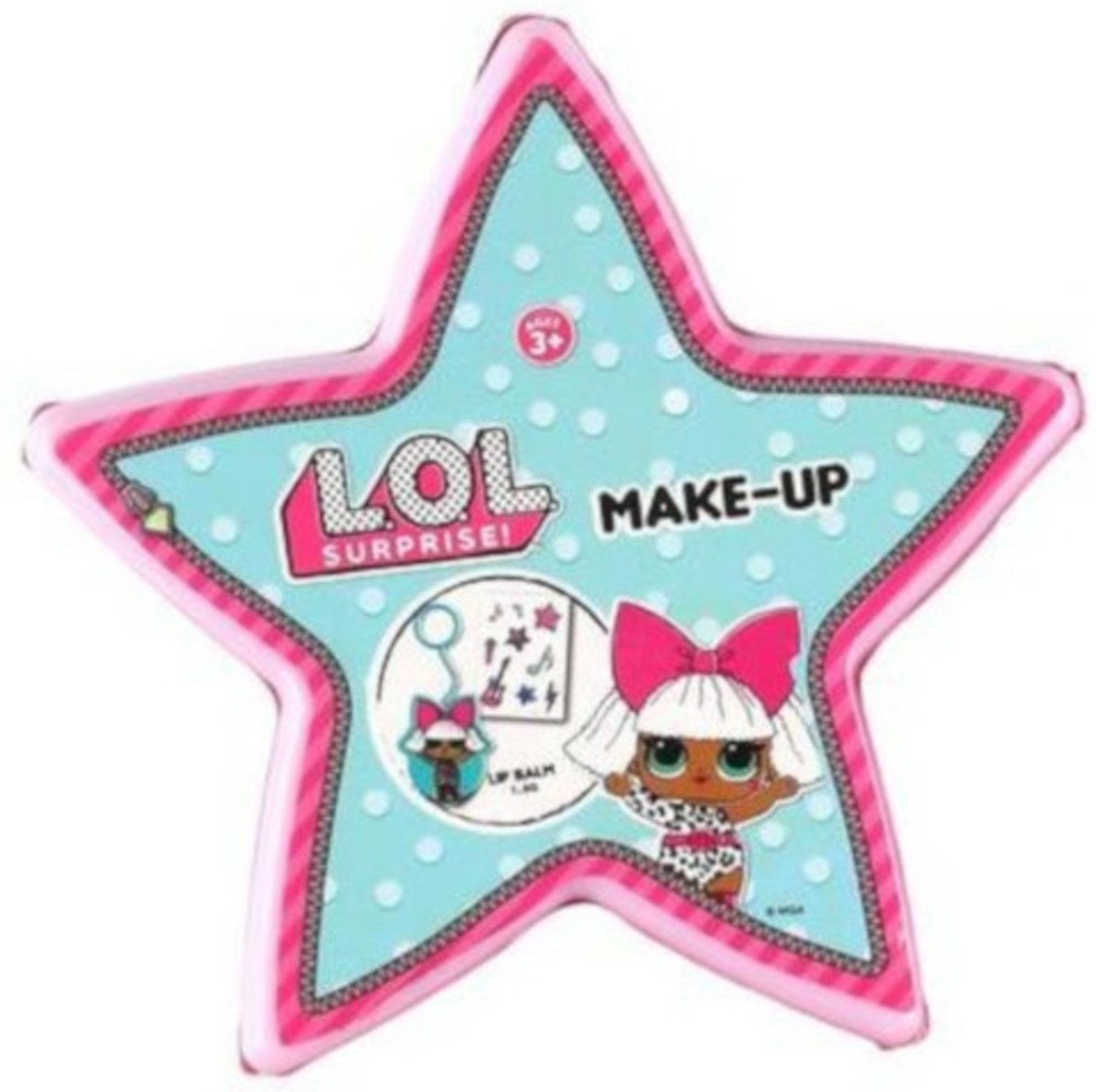 Toi-toys Make-upset L.o.l. Surprise Medium 10 Cm Roze (e)