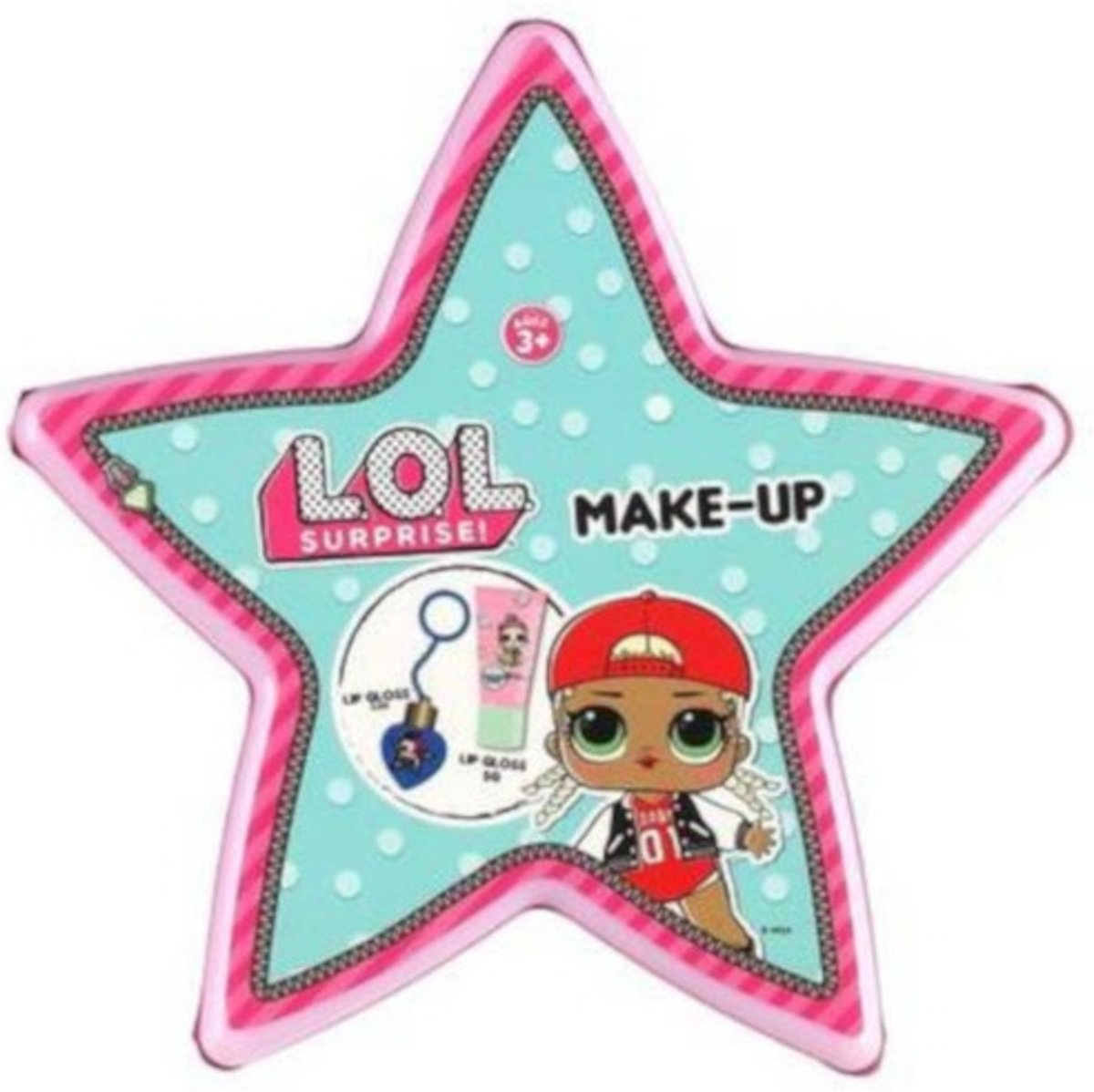 Toi-toys Make-upset L.o.l. Surprise Medium 10 Cm Roze (f)