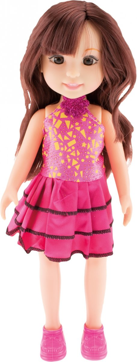 Toi-toys Tienerpop Emma And Friends Jurk Roze 35 Cm