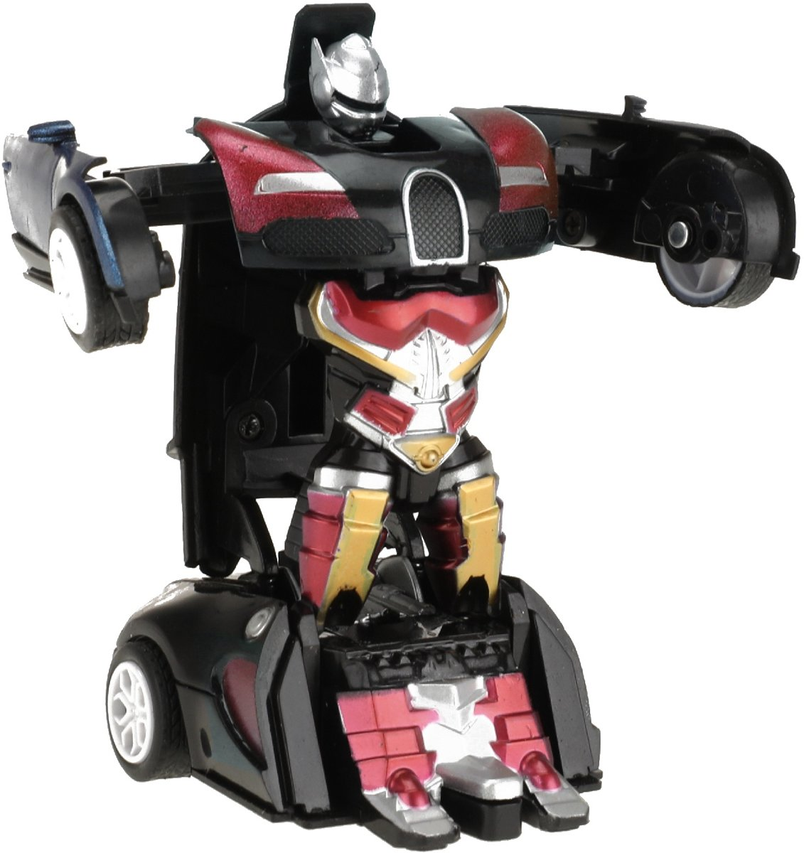 Toi-toys Transformer Robot Rood 14 Cm