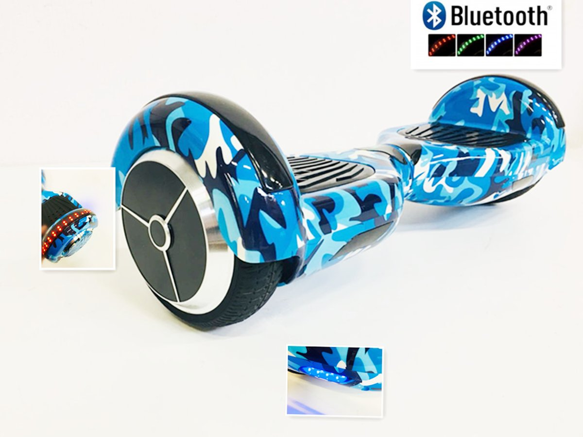 Hoverboard 6.5 INCH Blauw Bluetooth ,TaoTao