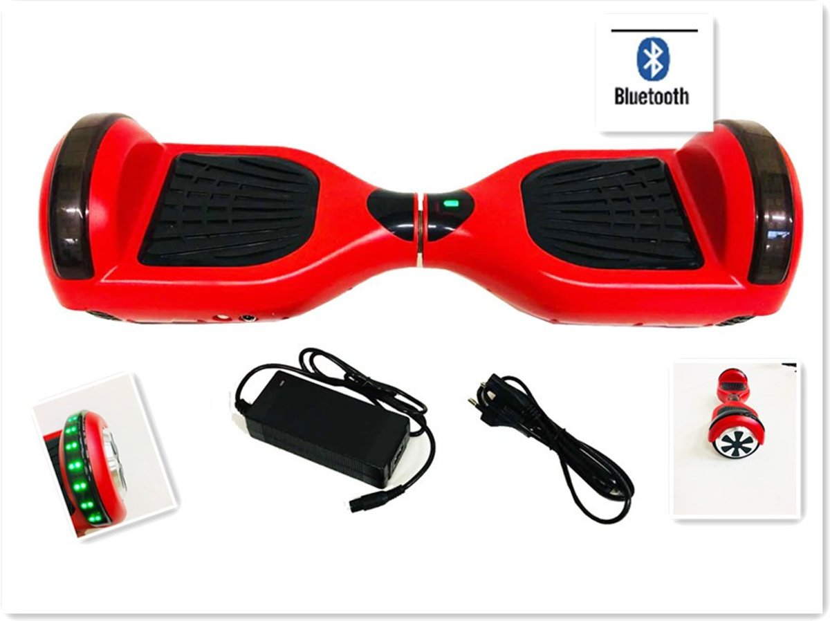 Hoverboard 6.5 inch  met TaoTao moederbord Bluetooth LED-Licht