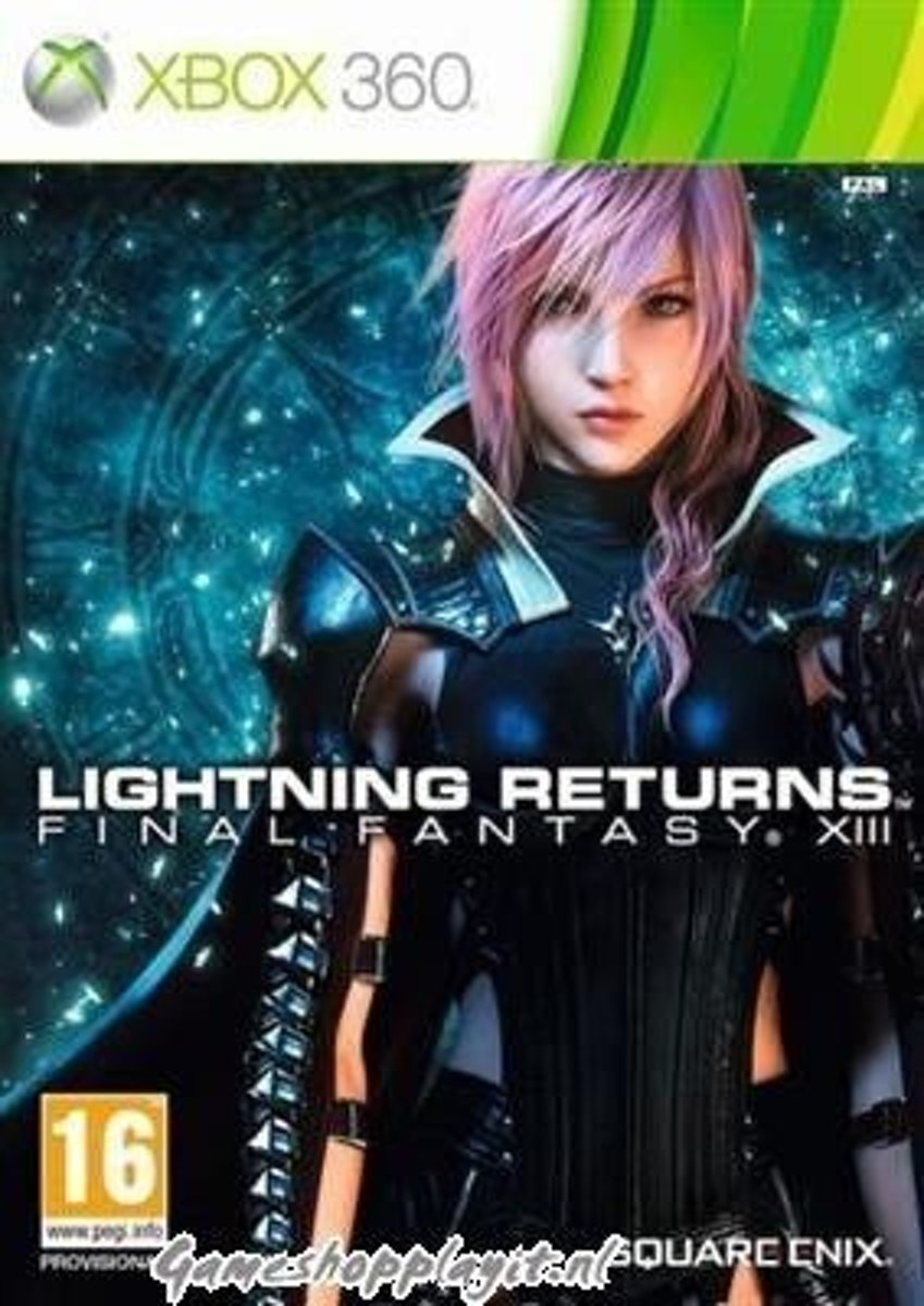 Final Fantasy XIII Lightning Returns Exclusive Limited Edition XBOX 360
